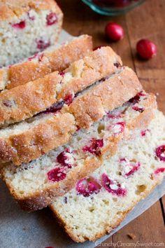 cranberry bread  Cranberry Bread Recipe