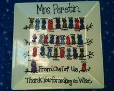 Goodbye gift for student teacher