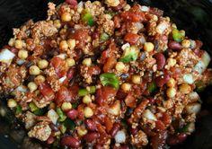 Easy, healthy, Crockpot turkey chili -Momo