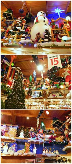 Been there!! It's FABULOUS. Bronner's is the World's Largest Christmas Store. Frankenmuth, MI.