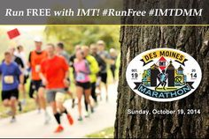 Run Free With IMT: IMT Insurance, our title sponsor for the 10th year, is giving away FREE entries for the 2014 Marathon and 3 big prize packages!  Be sure to head over to their Facebook page (The IMT Group) and enter to win!