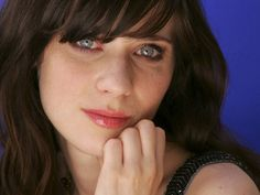 Such a clean fresh faced beauty ZooeyDeschanel