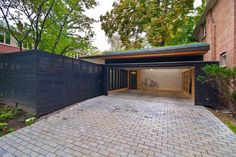Rosedale 'PARK' - modern - Garage And Shed - Toronto - Amantea Architects