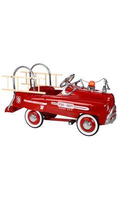 American Retro Pedal Fire Truck