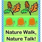 """MULTI-SENSORY SCIENCE!  """"Going on a Nature Walk!  Gonna hear Nature Talk!""""  Start with some fun Science Rhymes about HABITATS, WATER, NUTRIENTS, AND AIR!  A list of age-appropriate 'TALKING POINTS' is included.  Use the TWO TALLY SHEETS to record what you see outside!  Add a funny Nature Walk Rhyme, reminiscent of """"Going on a Bear Hunt!""""  Great for classrooms, homeschool, or Scout activities.  Enjoy SCIENCE WITH ACTION!  (9 pages)  From Joyful Noises Express TpT!  $"""