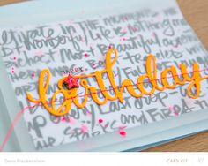 Happy Birthday by pixnglue at @studio_calico