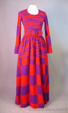 70s RUDI GERNREICH Dress