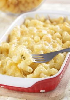 Not-as-sinful mac & cheese