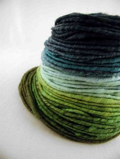 Yarn. These colors are amazing.