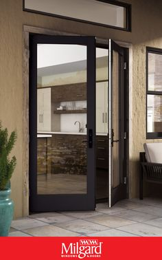 There's so much you can do with patio doors, it's sometimes hard to know where to start. Whether you're building a new home or replacing existing patio doors, here's a handy guide to help you get inspired. Are you ready to change your view? #doorselectionguide #patiodoorideas #blackdoorframes #blackwindowframes #glassdoors #frenchpatiodoors