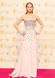 Jennifer Lawrence atBritish Academy Film Awards (February 10th)