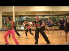 Amber Blanch's Zumba Video-These are amazing, by the second video I was sweating like mad!! Pretty easy to follow and all of the songs are familar so its easy to listen and enjoy!!