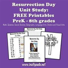 Resurrection Day Unit Study (PreK – 8)