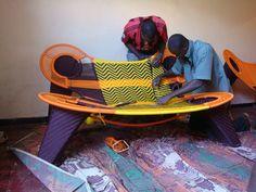 Madame Dakar making #design by Bibi Seck and Ayse Birse for Moroso #africa
