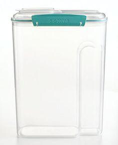 Martha Stewart Collection Storage Container, 4.5 Qt. Cereal - Kitchen Gadgets - Kitchen - Macy's