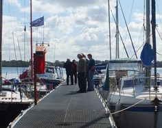 The ferry gathers our free tour attendees to travel to Rams Island, located one mile offshore from Lennymore Bay and Sandy Bay on the Eastern Shore of Lough Neagh.