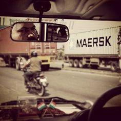 Maersk in Mumbai. (Taken with Instagram)
