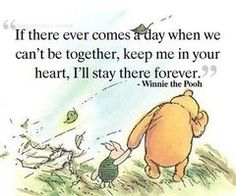 Winnie the Pooh will always be the sweetest.