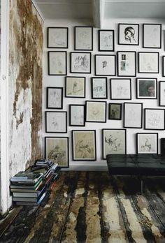 Salon Wall