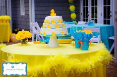 Rubber Duck Birthday Party   always loved rubber duckies