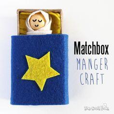 Matchbox Manger Craft ~ The Craft Train