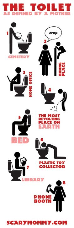 The Toilet, As Defined By a Mother