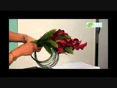 馬蹄蘭花球示範