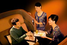 Maybe one day I can try Singapore Airlines First Class.  Always a pleasure to fly with SQ - in any class - they are like a luxury brand that never goes on sale.  Consistently, a class act.