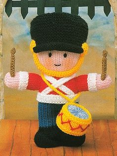 Knitting Patterns Toy Soldiers : Knit/Crochet Dolls + Toys on Pinterest Knitting Patterns ...