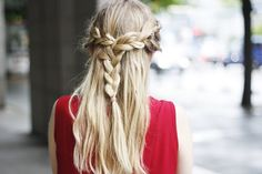 twisted braid.