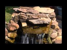 DIY Pond Waterfall Diffuser / Spillway