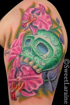 Flower Tattoo Art