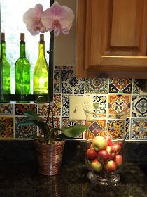 I really want talavera tiles in my kitchen!