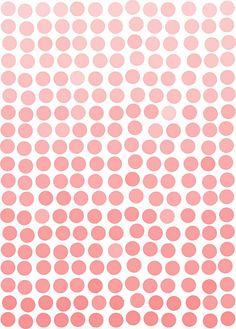 Pink polkadots