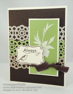 Fabulous Florets, Four Frames, Lace Ribbon punch, Decorative Label punch
