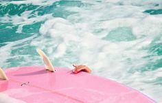 pink  seafoam