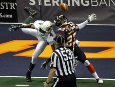 The Spokane Shock get thumped at home by San Jose in an AFL game. Photo and gallery by Dan Pelle, The Spokesman-Review. #spokane #afl