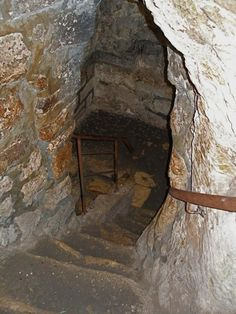 Ancient steps to the tomb of Lazarus