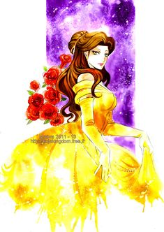 Belle - Beauty and Beast by *Maevachan on deviantART