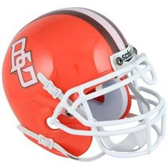 Bowling Green State University Falcons football game helmet