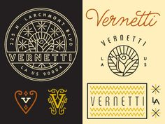 Vernetti Logo by Keith Davis Young