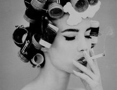 im printing this pic!!! i have the perfect place for it:) call me crazy for loving vintage pics of women smoking!