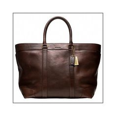 Coach Bleecker Legacy Leather Weekend Tote