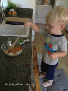 The Activity Mom: Bake with Your Toddler