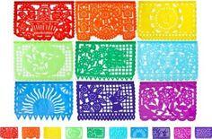 Multicolor Mexican Party Banner: Amazon.com: Home & Kitchen