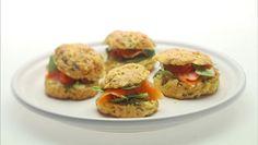 Giada Dilaurentiis' Crispy Parmesan Biscuits