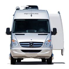 "Leisure Travel Vans Class B motorhome with a lateral slide. The ""Free Spirit SS"" is offered on the Mercedes-Benz Sprinter van platform."