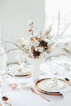 Dried flower arrange