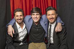 Martin Harvey (left), Daniel Covin (middle), and Alfredo Martinez (right)  (Photo Courtesy of Victoria Will / TV Guide Magazine) magazin exclus, guid magazin