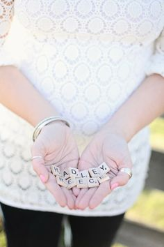 scrabble letters baby name